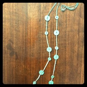 Silver Medallion + Gold Chain